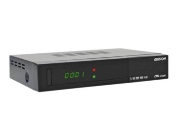 Edision OS mini 1x DVB-S2 Full HD Linux Sat-Receiver schwarz